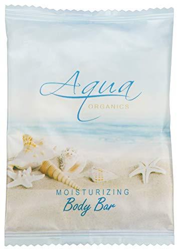 Aqua Organics Bar Soap, Travel Size Beach Hotel Amenities, 1 oz (Case of 500) by Aqua Organics (Image #1)