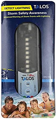 TALOS Lightning & Storm Detector | Designed for Multiple Outdoor Applications | Auto Sleep Mode | Battery