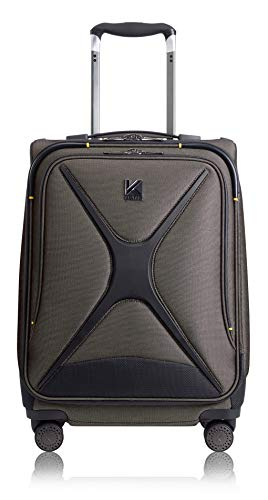 Kevlar by DuPont Discovery Cabin Suitcase (Stealth - Unisex One Top Pocket Marathon