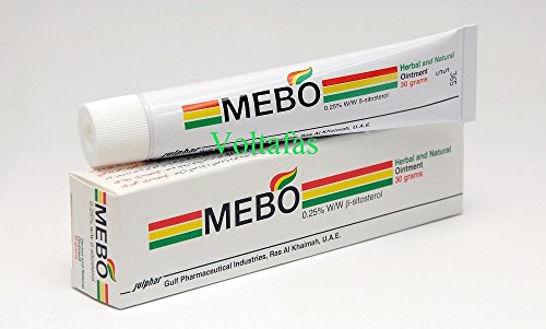 Oil Burn First Aid (Mebo Burn Fast Pain Relief Healing Cream Leaves No Marks 30 Grams)