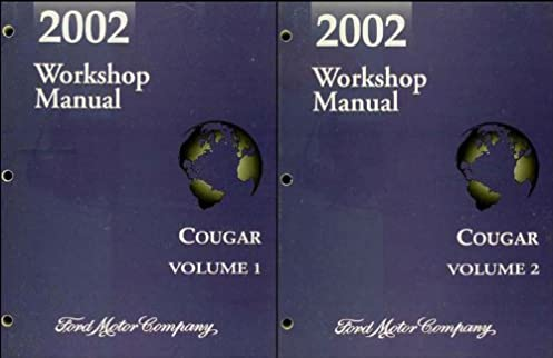 2002 mercury cougar repair shop manual original 2 volume set rh amazon com Parts for 2002 Mercury Cougar Parts for 2002 Mercury Cougar