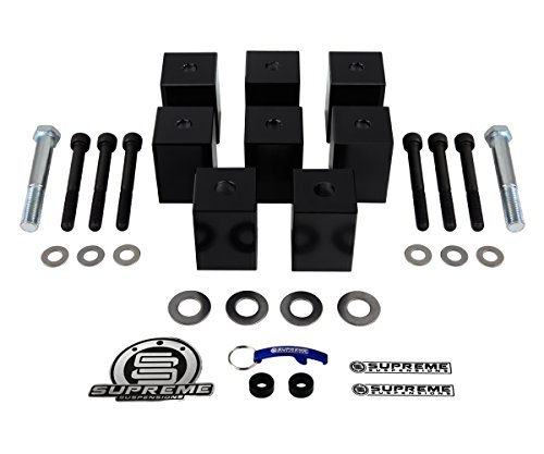 Supreme Suspensions - Seat Risers for Jeep Wrangler 2