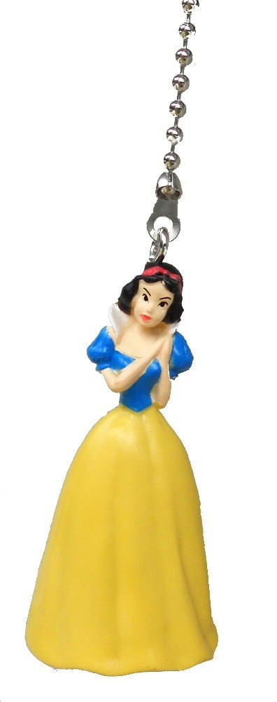 Disney classic movie princess SNOW WHITE Ceiling FAN PULL light chain