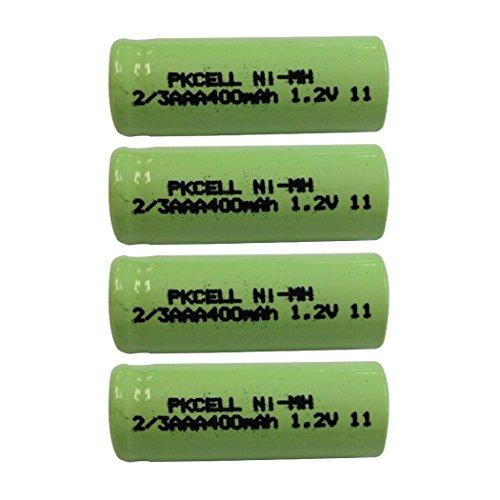 NiMH Rechargeable Battery 2/3 AAA 1.2V 400mAh (4pcs)