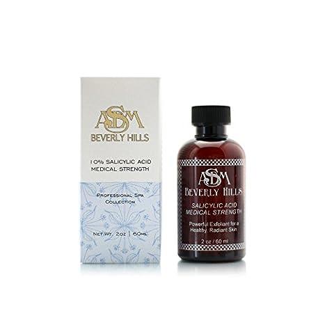 ASDM Beverly Hills 10% Salicylic Acid Medical Strength, 2oz (Organic Salicylic Acid Powder)
