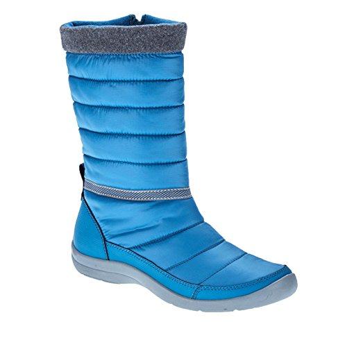 Easy Spirit Kingsland Women Us 7.5 Stivale Invernale Blu