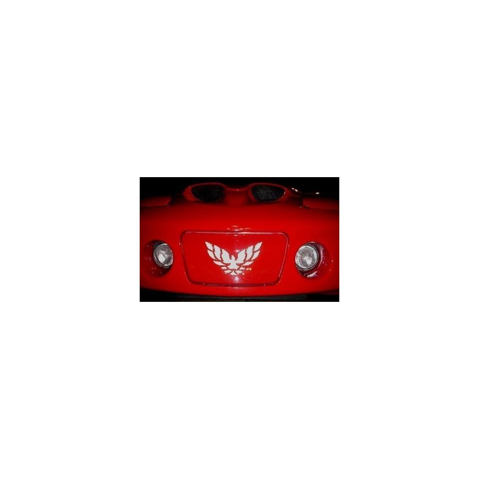 Firebird Trans Am RAM AIR WS6 Hood Vinyl Decals Stickers GLOSS BLACK
