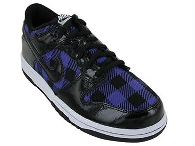 new products e0124 b7209 Nike Kids NIKE DUNK LOW (GS) SKATE SHOES 5.5 (BLACK VARSITY PURPLE