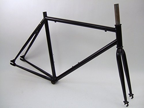 Unbranded Steel Track Single Speed 700c Bicycle Frame Set Dawes MTA Fixie (54cm)
