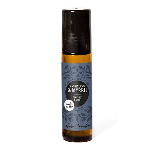 Edens Garden Frankincense & Myrrh 10 ml Roll-On Synergy Blend 100% Pure Undiluted Therapeutic Grade GC/MS Certified Essential Oil