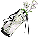 Tour Edge Women's 2014 Lady Edge Golf Starter Set, Ladies Flex, Right Hand, Graphite, Lime