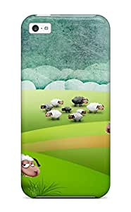 Cute Tpu ThomasSFletcher Crazy Sheep To Pasture Case Cover For Iphone 5c