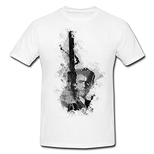 Clint Eastwood T-Shirt Herren, Men mit stylischen Motiv von Paul Sinus