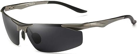 2bb683ddc2a0 Duco Men's Rectangle Polarized Sunglasses Driver Glasses 8199 (Gunmetal)