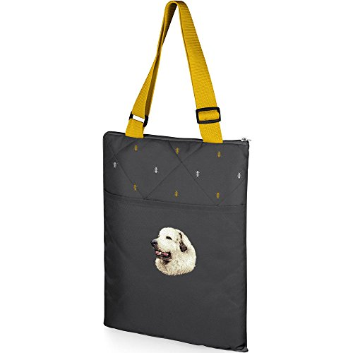 - Cherrybrook Dog Breed Embroidered Vista Outdoor Blanket - Anthology - Great Pyrenees
