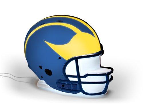 NCAA Michigan Wolverines LED-Lit Football Helmet