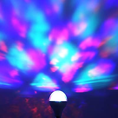 Feit Electric MultiColor Changing Disco Party LED Light Bulb, DISCO1/LED, A19, RGB