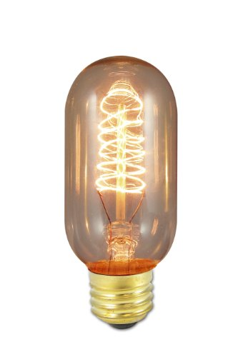 Bulbrite NOS40T14 40-Watt Nostalgic Edison T14 Tubular, Vintage Spiral (Style Single Light)