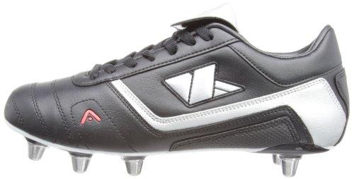 Kooga  - Botas de rugby para hombre, color negro, talla UK: Size 8 negro