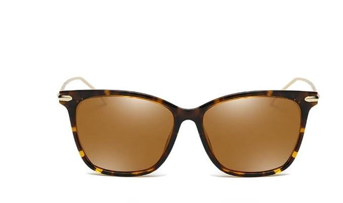 GAOCF Gafas De Sol Polarizadas Gafas De Sol Polarizar Caja Gafas De Resina Marea Hombres Y