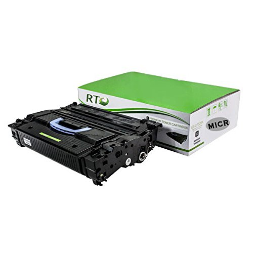 - Renewable Toner Compatible MICR Toner Cartridge High Yield Replacement for HP 25X CF325X Laserjet M830z M806