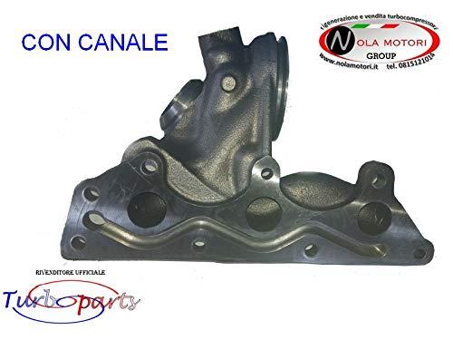 COLLETTORE DI SCARICO CON CANALE PER SMART 700