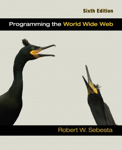 Programming the World Wide Web (6th - Shopping In Walnut Creek
