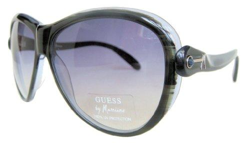 GUESS by MARCIANO Femme Lunettes de Soleil Exclusif GM 617 BL-48 Etui LIBRE
