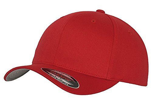 1961-66 Ford F100 Pickup Truck Classic Outline Design Flexfit hat Cap Large/XLarge red