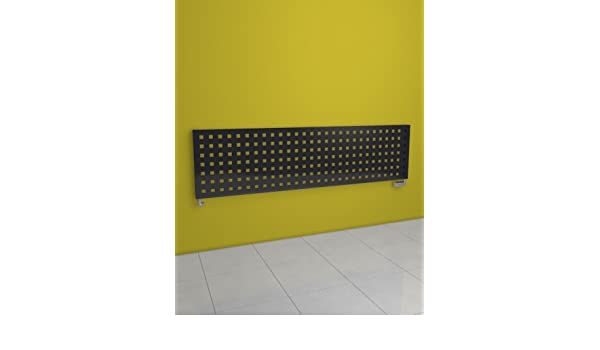 Europe - Radiador Decorativo - incluye Kit de grifo - diseño moderno - 288 x 1806 mm - gris grafito - 540 vatios - Calefacción Central de Agua - Pose Pared ...