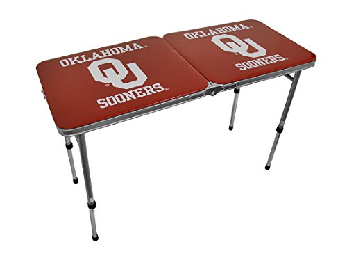 NCAA Oklahoma Sooners Tailgate Table, 22-Pound by Marketing Results, Ltd.
