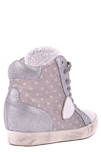 Philippe Model Zapatillas Para Mujer Plateado Plata It - Marke Größe