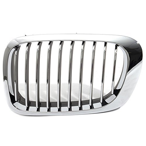 OE Replacement BMW Driver Side Grille Assembly (Parts link Number BM1200134) ()