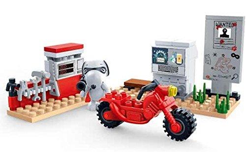 BanBao 7532 Snoopy Motor Workshop, Multi Color