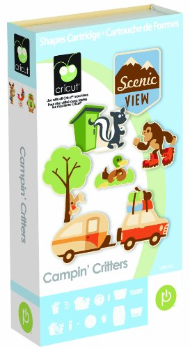 Cricut 2000933 Campin' Critters Cartridge by Cricut