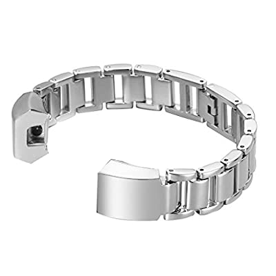 """bayite Metal Bands for Fitbit Alta, 5.5"""" - 7"""" Style H"""