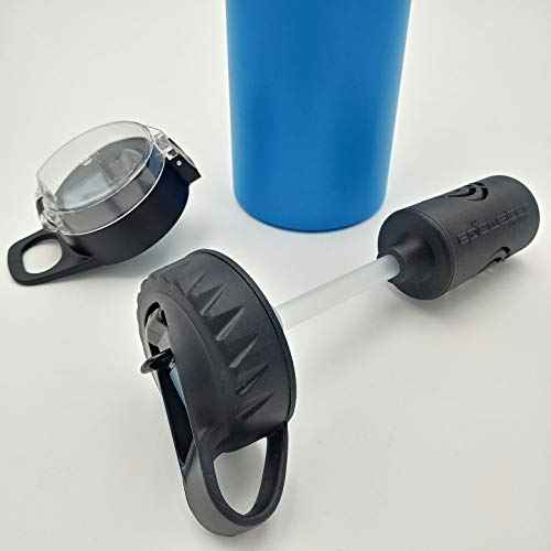 Epic Water Filters Compatible with 32 OZ Bottles Filter Straw Lid ()