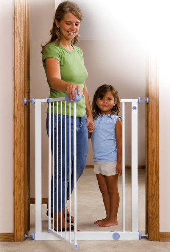 Amazon Com Mommy S Helper Pressure Mounted Extra Tall Safety Gate