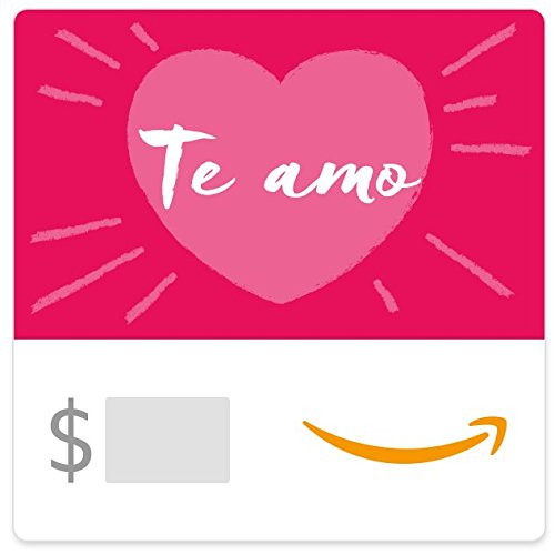 Amazon eGift Card - Te Amo - Del Amo Ca