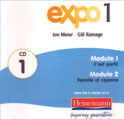Expo 1 Audio Cds (Pack of Three) pdf epub