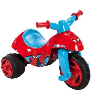 Huffy Marvel Ultimate Spider-Man 6V Dual Power 3 Wheel Trike with charger, (Huffy Tricycle)