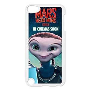 iPod Touch 5 Case White Mars Needs Moms D449514