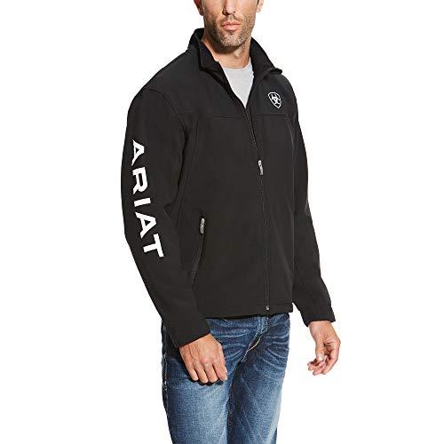 Team Jacket - ARIAT Men's New Team Softshell Jacket Black Size XL