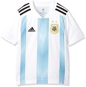 adidas Argentina Camiseta de Equipación, Niños, Blanco (azucla/Negro), 152-11/12 años