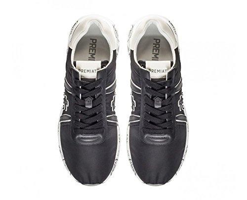 PREMIATA Mattew - Zapatillas de Tela Para Hombre Negro Negro