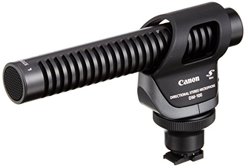 Canon DM-100 Directional Stereo Microphone Directional Stereo Microphone Dm100