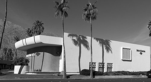 24 x 36 B&W Giclee Print Built in 1959 City National Bank, The Bank America Building Became a Favorite Stop on Modern-Architecture Tours Palm Springs, California 2013 Highsmith 07a (Best Architecture Tour Palm Springs)