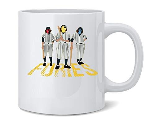Baseball Furies Minimalist 70s Coffee Mug Tea Cup 12 oz -