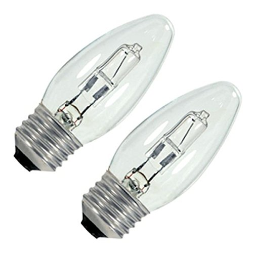120v Carded - S2443 43w Halogen Torpedo - Medium Base - Clear - 120v - Carded