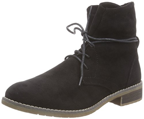 Jane Klain 252 169 - botas desert de terciopelo mujer negro - Schwarz (Black 008)